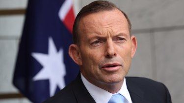 Prime Minister Tony Abbott announced a military training mission to Iraq on Tuesday.