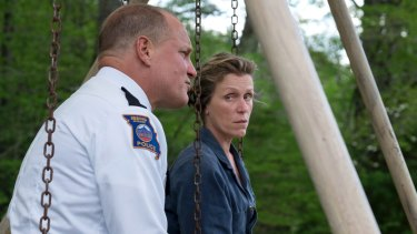Woody Harrelson and Frances McDormand in Three Billboards Outside Ebbing, Missouri. The film is considered an Oscar contender, but will Disney have an appetite for this kind of thing?