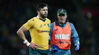 Unwanted: Adam Ashley-Cooper has not had his contract renewed by Bordeaux-Begles.