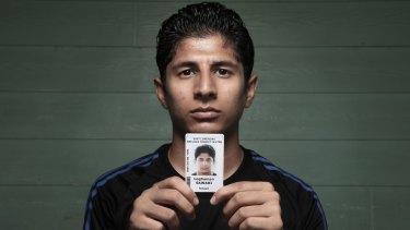 Refugee Loghaman Sawari last year.