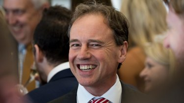 "There had been ""good dialogue"" with Health Minister Greg Hunt."