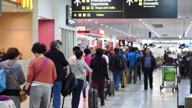 """""""Premium"""" passengers could pay extra to skip airport queues."""