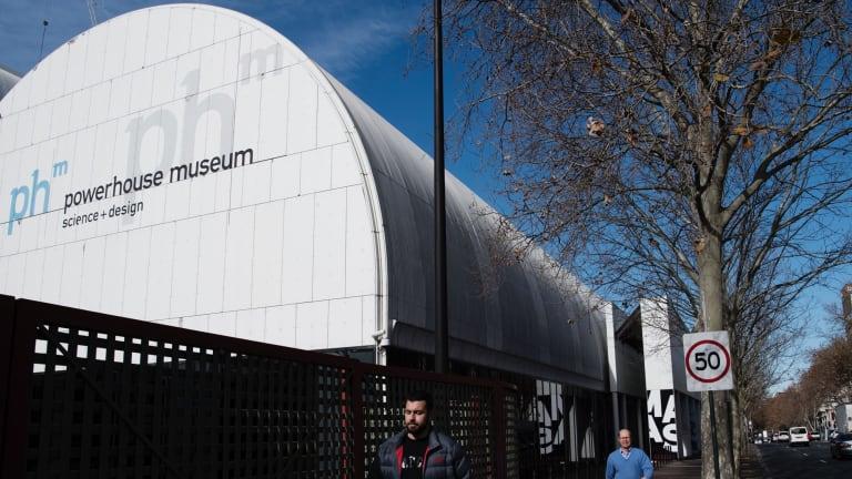 The Powerhouse Museum.