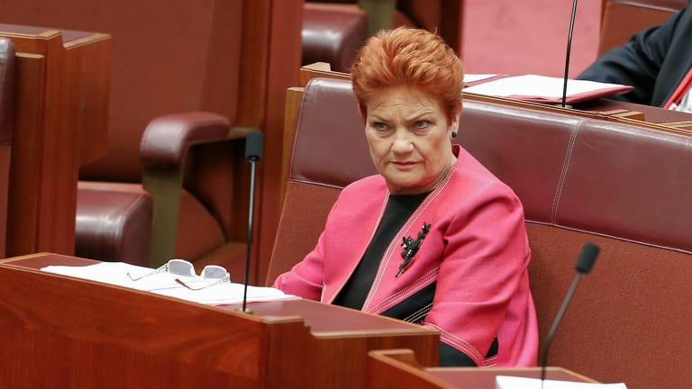 Senator Pauline Hanson is a prime example of not realising one's limitations.