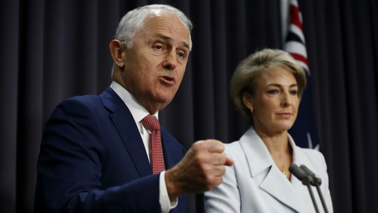Jobs Minister Michaelia Cash will be at the centre of Malcolm Turnbull's new rhetorical pivot.