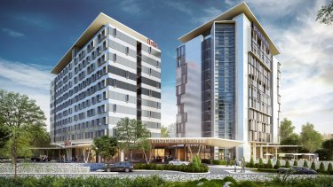 Brisbane Airport will get two new hotels in 2017.