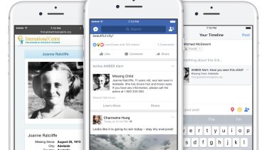 Australian police and Facebook launch AMBER Alert child abduction system