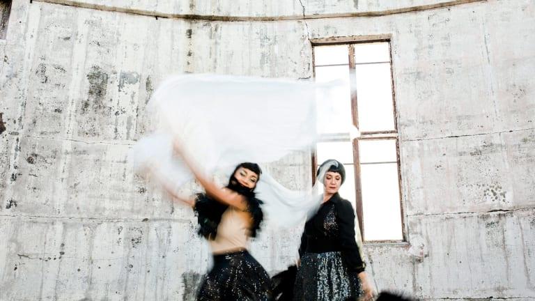 Hundreds of Canberra dancers will perform during Australian Dance Week, including Rachel Reid and Liz Lea.