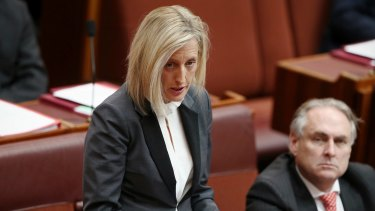 Formerly a dual-citizen by descent: Katy Gallagher.