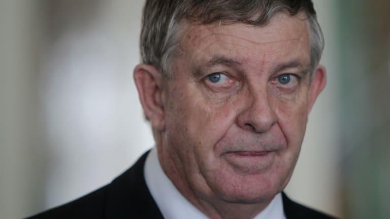 Offending expert: West Australian Liberal senator Chris Back.