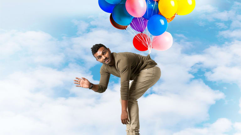 Nazeem Hussain is at the 2018 Canberra Comedy Festival with his new show,No Pain No Hussain!