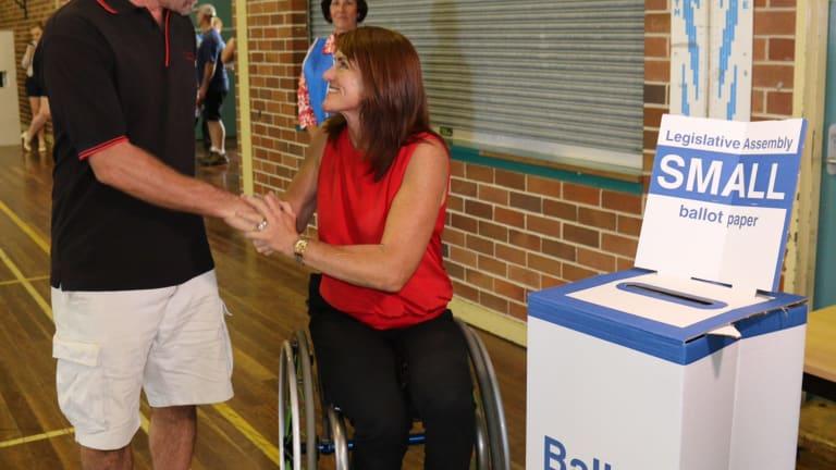Labor's Liesl Tesch has won the Gosford Byelection