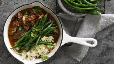 Stroganoff stew.