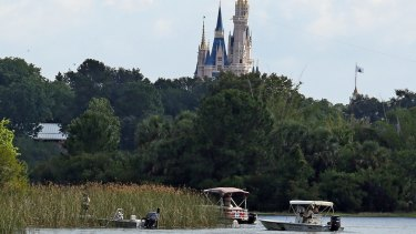 In the shadow of the Magic Kingdom, Florida Fish and Wildlife Conservation Officers searched for the toddler's body.