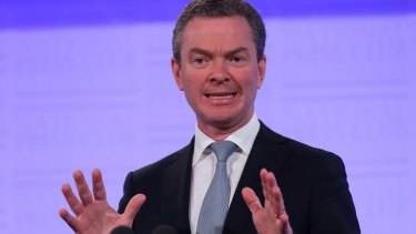 No cuts please: Education Minister Christopher Pyne.