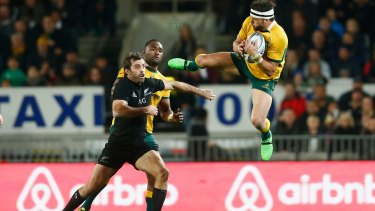 Bad memory:  Adam Ashley-Cooper says he will draw inspiration from the heavy defeat to New Zealand on Saturday.