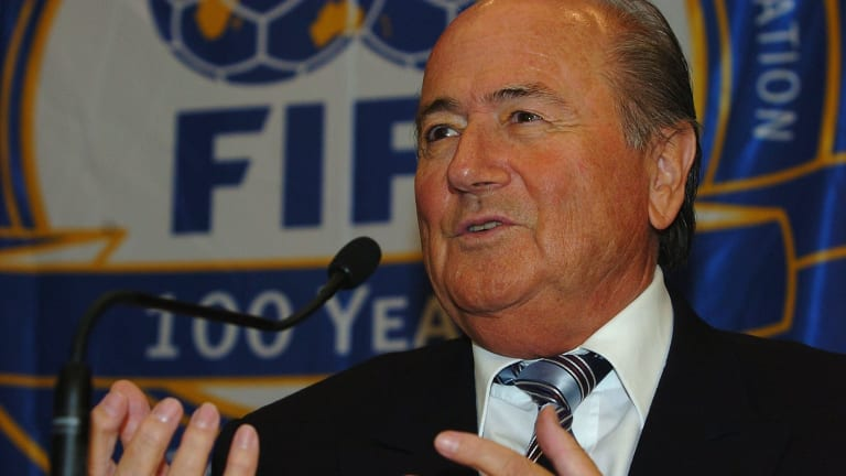 Sepp Blatter has denied sexually assaulting Hope Solo.