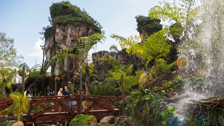 The Pandora attraction at Walt Disney World Resort in Florida.