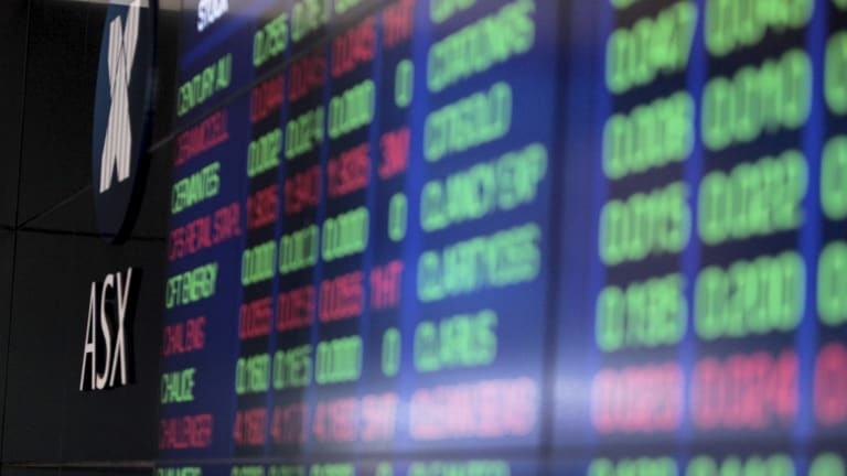 The ASX finished flat following poor performances from the banks.