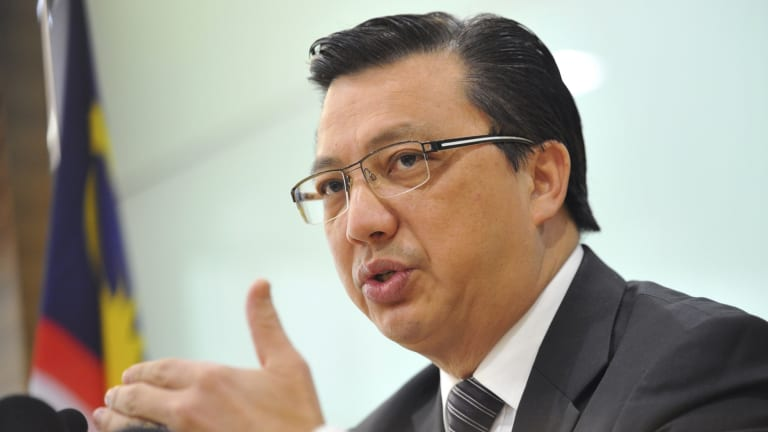 Malaysian Transport Minister Liow Tong Lai has suggested he is unaware of what is in the report to be released on Tuesday.
