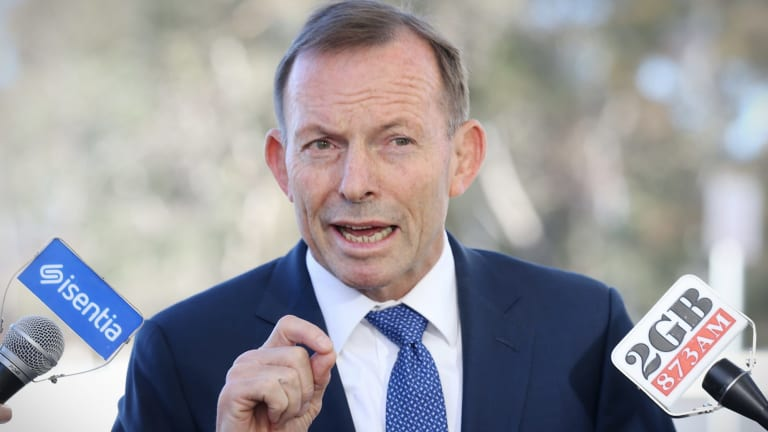 """Tony Abbott slammed the ACT education minister's comments as """"pretty outrageous""""."""