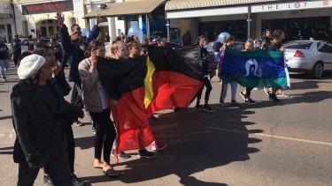 Demonstrations are being held in Kalgoorlie after the verdict.