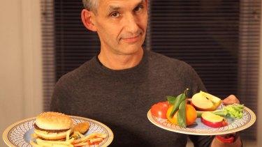 Professor Tim Spector: author of The Diet Myth book.