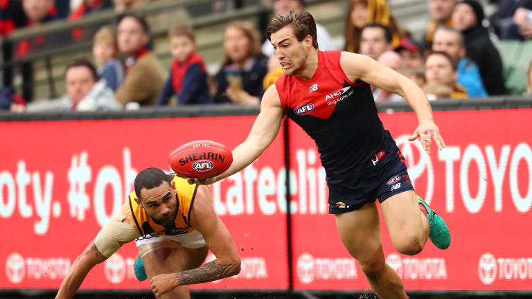 """Jack Viney joins father Todd as Keith """"Bluey"""" Truscott Medal.winner."""