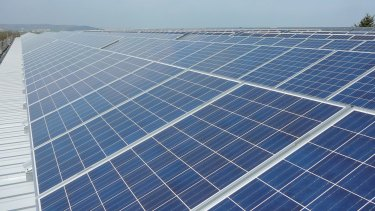 No more for Woodland: Solar panels in South Carolina.