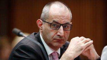 Immigration Department boss Michael Pezzullo.