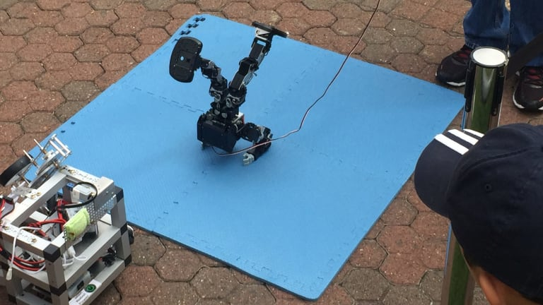 Robots are on display down at South Bank over the weekend.