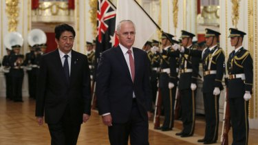 All eyes will be on body language when Malcolm Turnbull next meets Japan's Prime Minister Shinzo Abe.