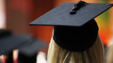 The national graduation rate has fallen to its lowest level recorded.