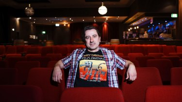 Stefan Popescu, director of the Sydney Underground Film Festival, said his tolerance of movies depicting graphic violence had changed since he became a parent.
