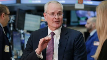 Exxon Mobil Chairman Darren Woods faced a shareholder push on climate change.