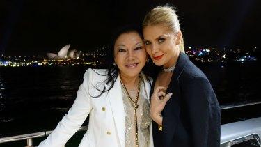 Monika Tu and Natalie Bassingthwaighte were in attendance. Photo: Supplied