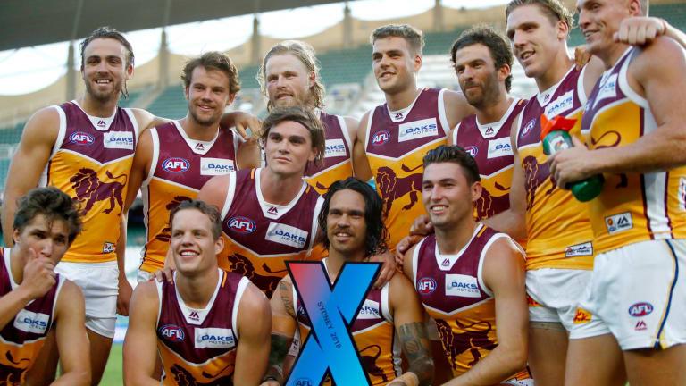 The Brisbane Lions won the final AFLX grand final.