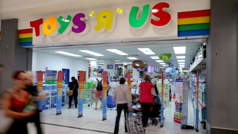 ToysRus, Anaconda, Nick Scali and Amart Furniture will be among anchor tenants in converted Masters stores slated to open between October and December.