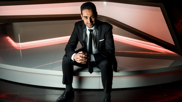 Waleed Aly has failed to publicly defend the Australia Council against savage budget cuts, according to academic and writer Ben Eltham.