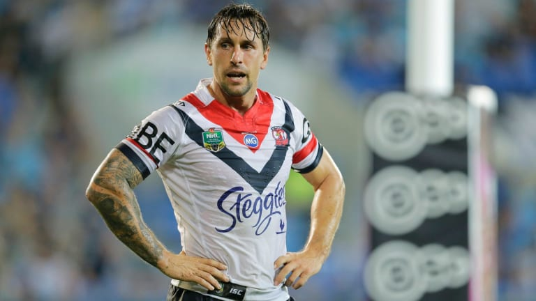 Knighted: Mitchell Pearce is the cornerstone of rebuilding Newcastle.