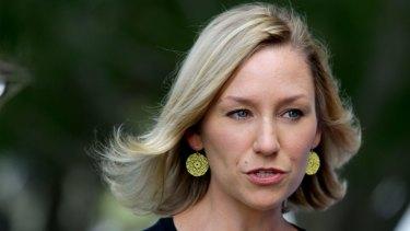 Queensland Greens Senator Larissa Waters.