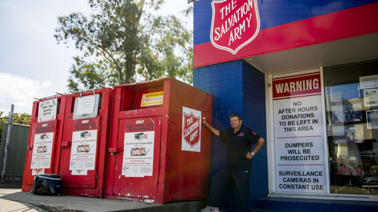 Donating good-quality used goods is another way to help charity.