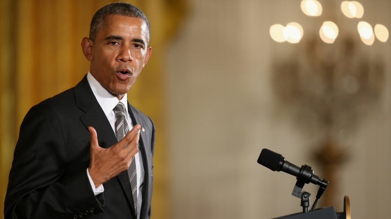 """US President Barack Obama has called the tax haven """"the biggest tax scam on record""""."""