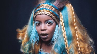 PP Arnold as she appeared on the cover of her 1968 album <I>Kafunta</I>.