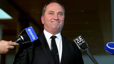Looking at the 'big picture': New advisers will help Deputy Prime Minister Barnaby Joyce respond to issues outside his agriculture and water resources portfolios.