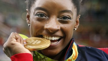 Simone Biles is now considered the greatest female gymnast in the world.