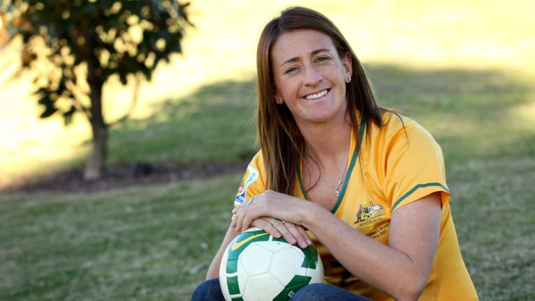 Heather Garriock is Canberra United's new head coach.