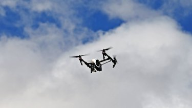 Drones that carry video cameras are becoming increasingly popular.