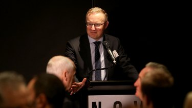 RBA governor Philip Lowe blamed tax arrangements for property investors for the explosion in house prices.