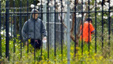 Broadmeadows detention centre is the indefinite home for some refugees.